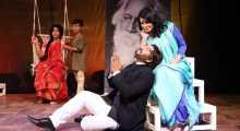 দিল্লির মঞ্চে প্রাঙ্গণেমোর এর 'আমি ও রবীন্দ্রনাথ'