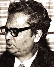 Munier Choudhury- Bangladeshi Educationist  and  Playwright.