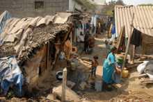 Where the slum dwellers will go?